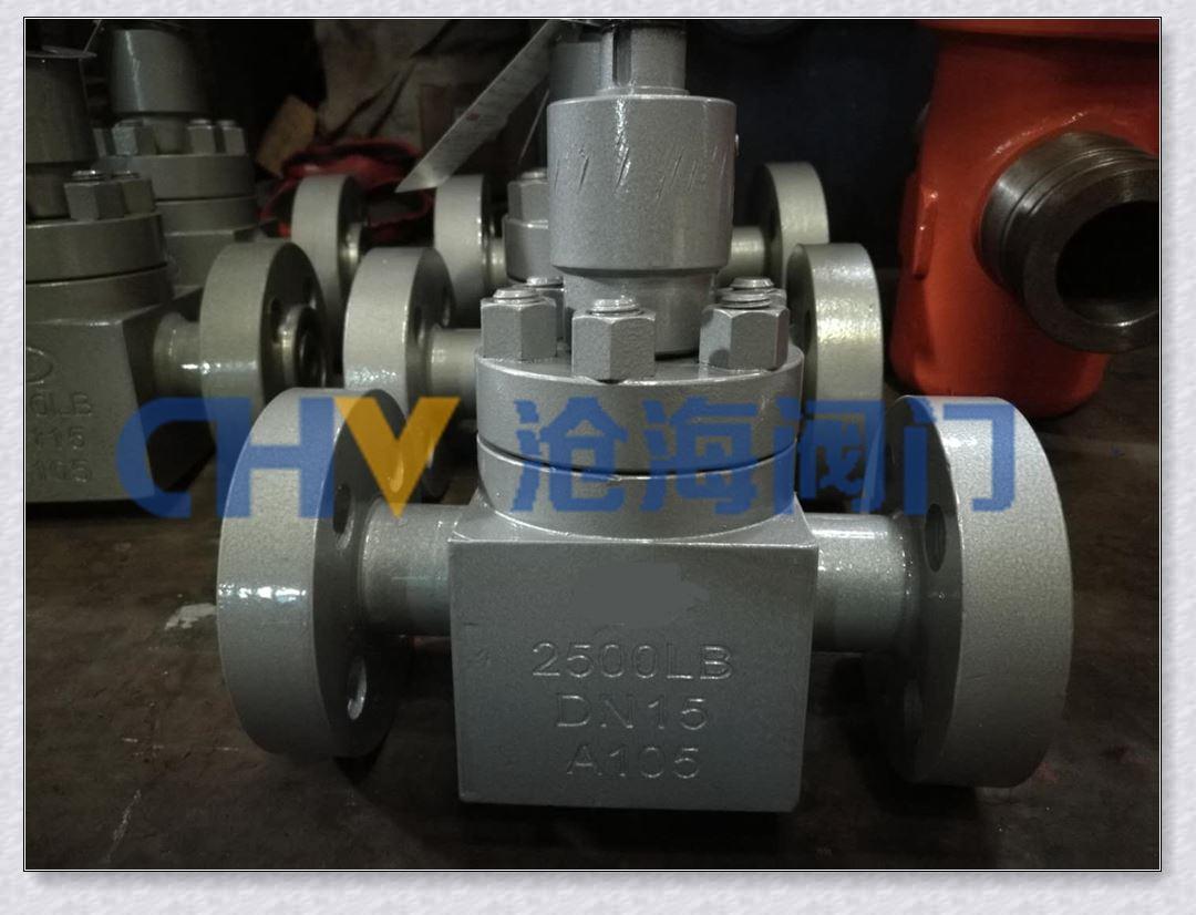 CHZ43Y高压锻钢美标平板闸阀