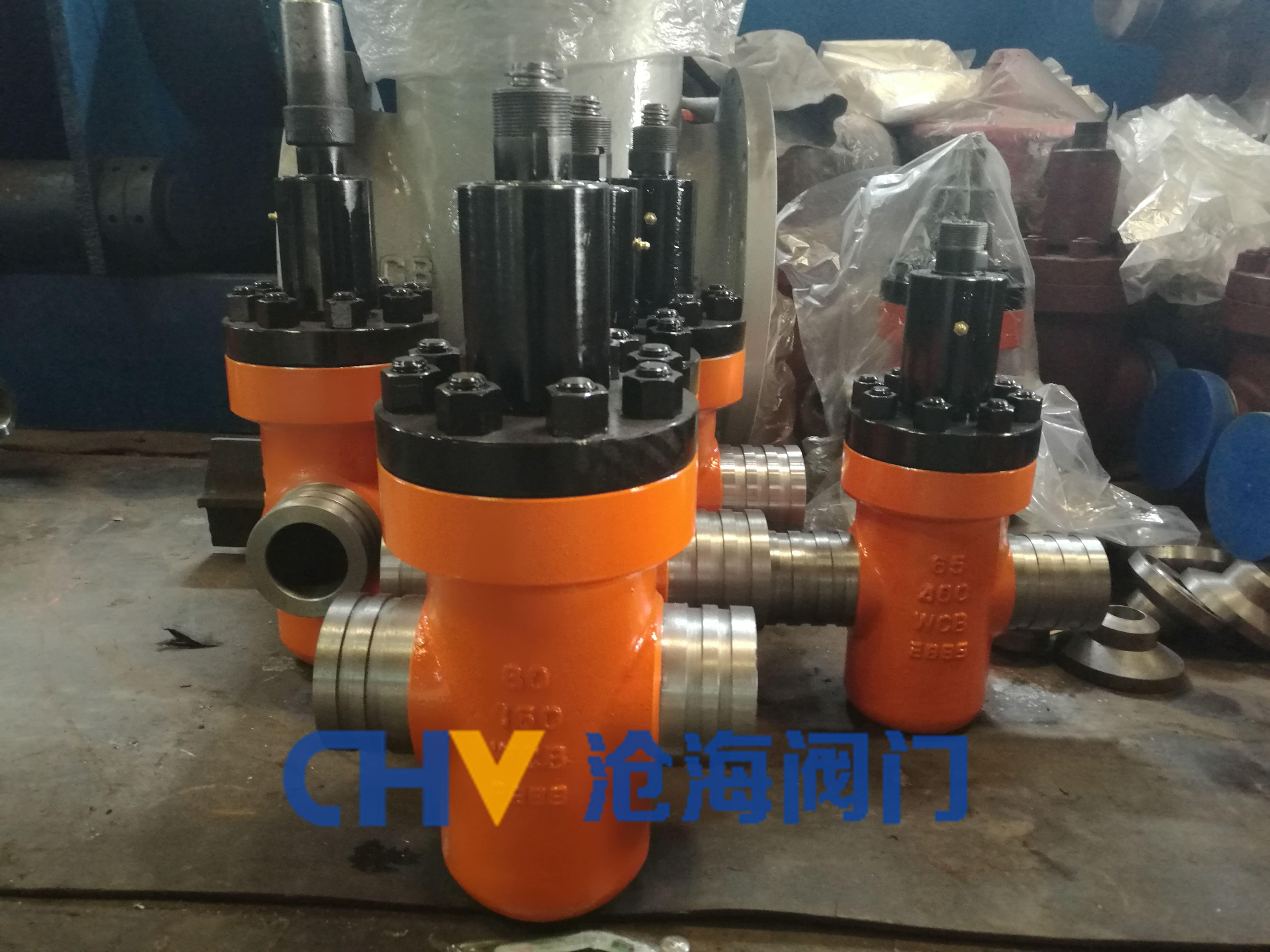 Φ60.3高压沟槽闸阀GYZF93Y-160