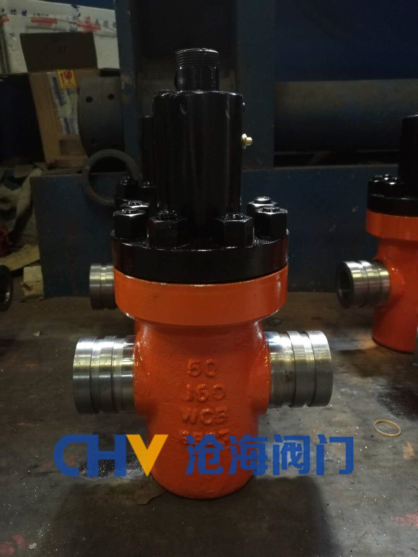 远程供液沟槽式专用阀门