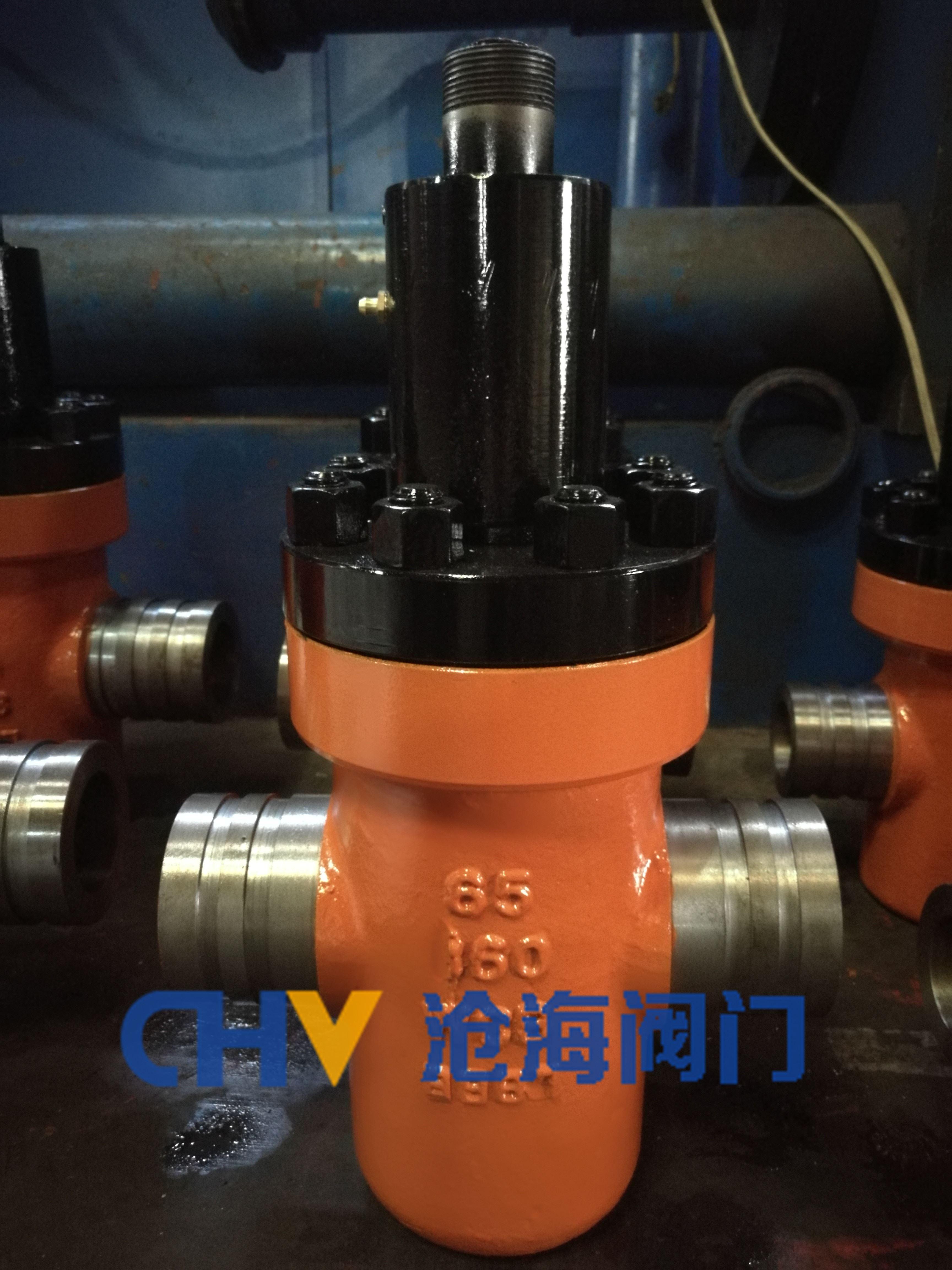 乳化液供回液管路系统GZF63Y沟槽式特高压闸阀