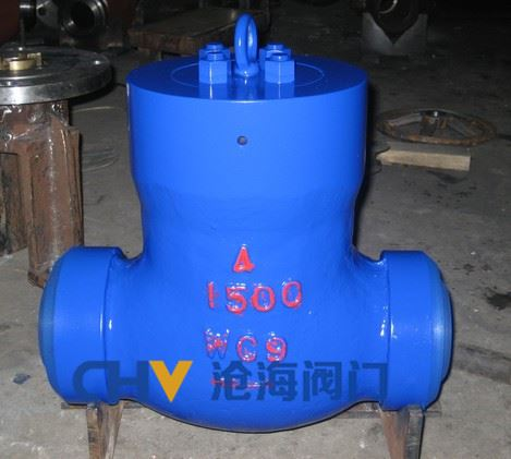 H64Y高温高压旋启式止回阀